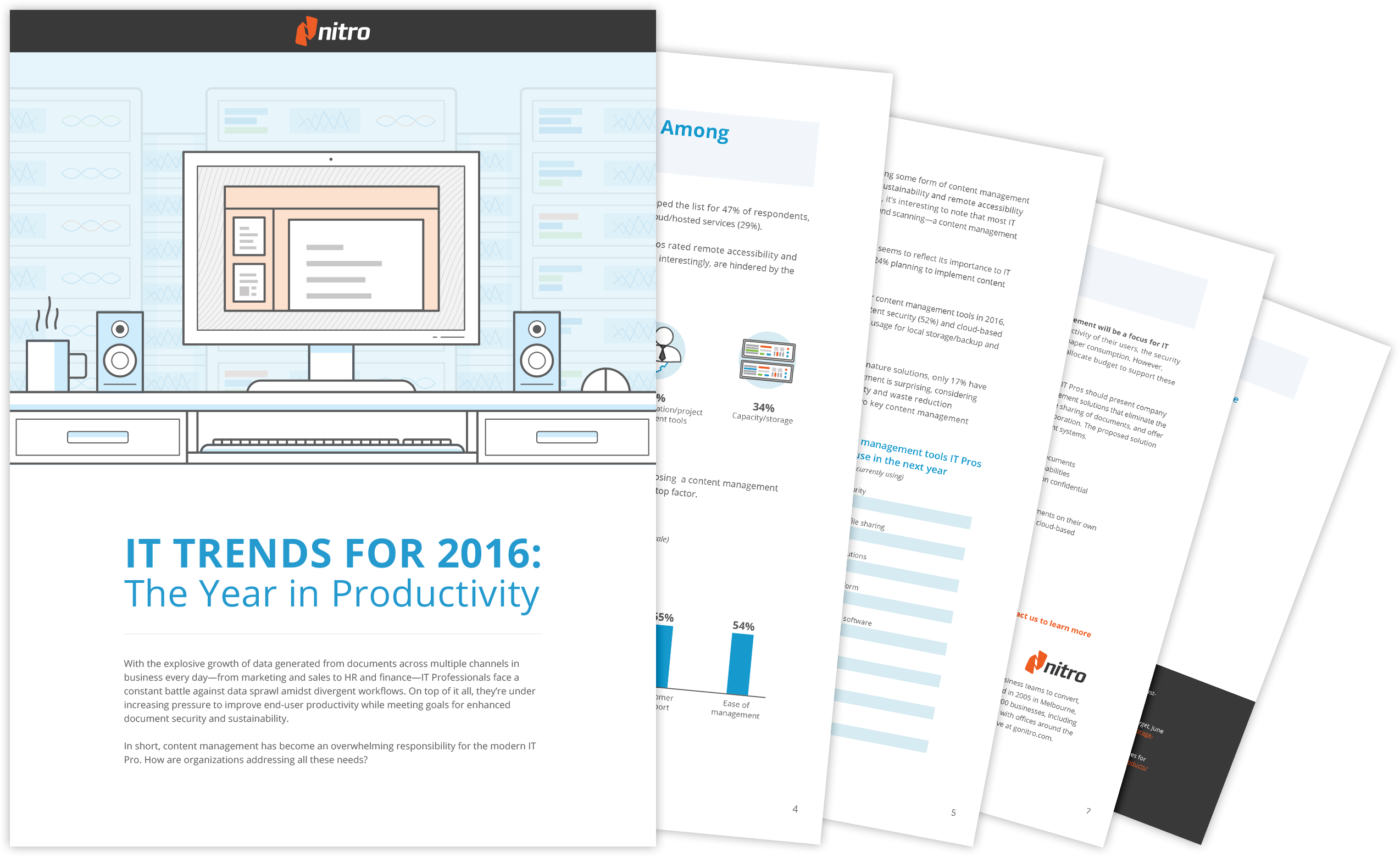 Report - 2016 Information Technology Trends: Productivity, Content Management, and Security